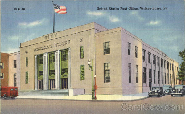 United States Post Office Wilkes Barre Pennsylvania