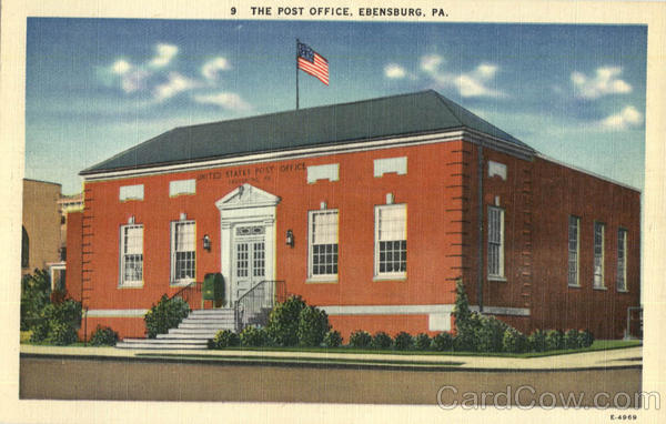 The Post Office Ebensburg Pennsylvania
