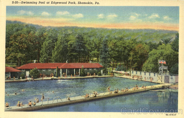 Swimming Pool , Edgewood Park Shamokin Pennsylvania