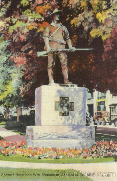 Spanish American War Monument Shamokin Pennsylvania