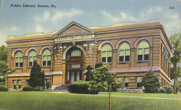 Public Library Easton Pennsylvania