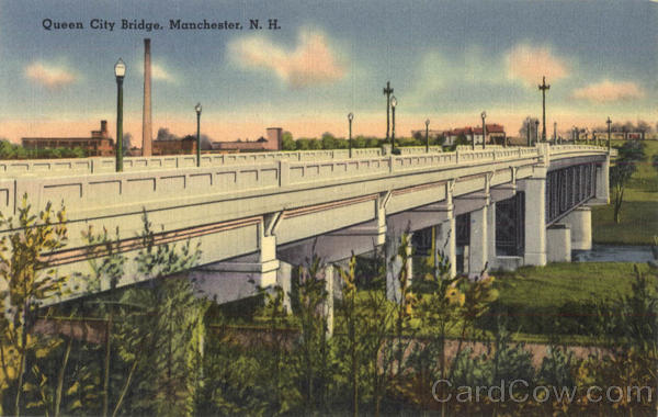 Queen City Bridge Manchester New Hampshire