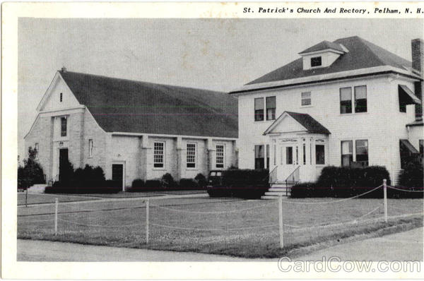 St. Patrick's Church And Rectory Pelham New Hampshire