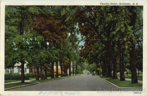 Charles Street Rochester New Hampshire