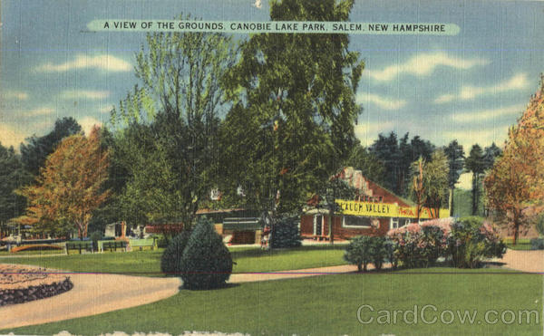A View Of The Grounds , Canobie Lake Park Salem New Hampshire