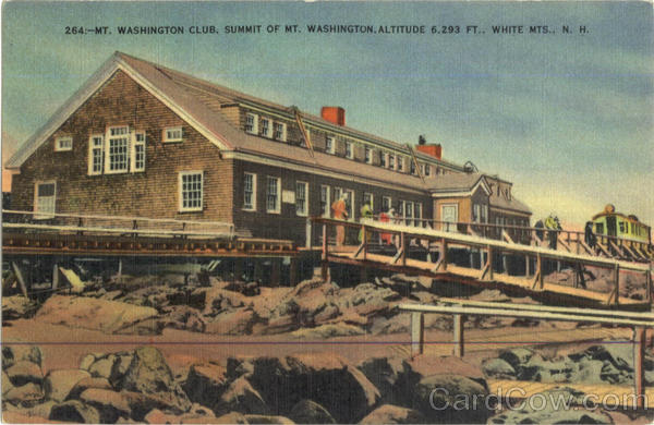 Mount Washington Club White Mts., New Hampshire