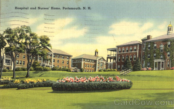 Hospital And Nurses Home Portsmouth New Hampshire