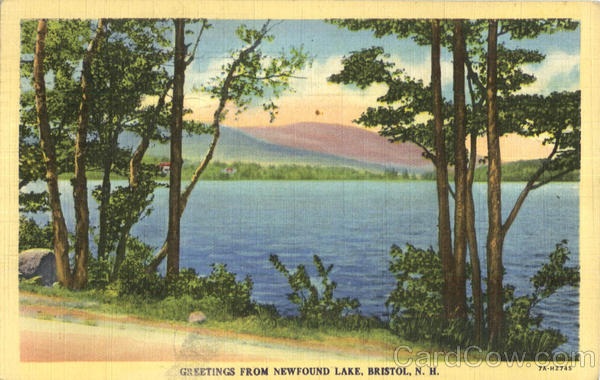 Greetings From Newfound Lake Bristol New Hampshire
