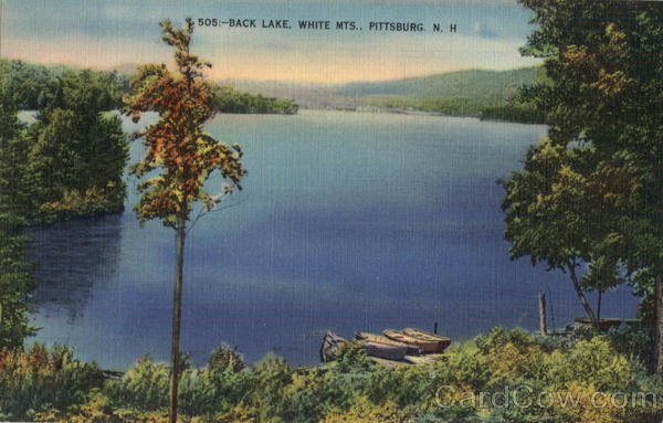 Back Lake White Mts Pittsburg New Hampshire