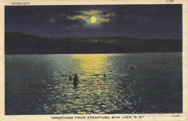 Greetings From Strafford, Bow Lake New Hampshire
