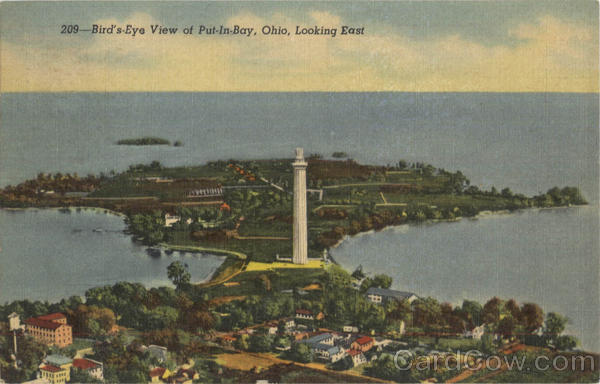 Bird's Eye View Of Put In Bay Put-In-Bay Ohio