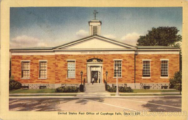 United States Post Office Of Cuyahoga Falls Ohio