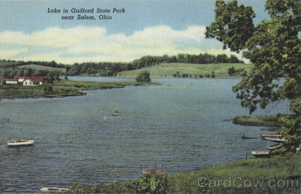 Lake In Guilford State Park Salem Ohio
