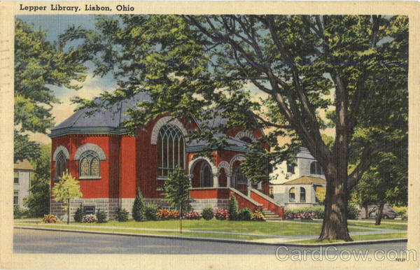 Lepper Library Lisbon Ohio