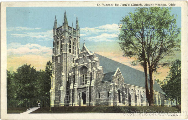St. Vincent De Paul's Church Mount Vernon Ohio
