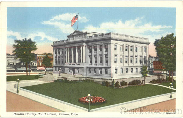 Hardin County Court House Kenton Ohio
