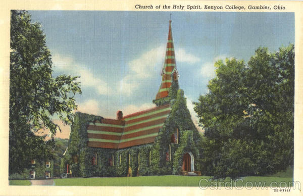 Church Of The Holy Spirit, Kenyon College Gambier Ohio
