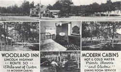 Woodland Inn, Lincoln Highway