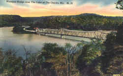 Niangua Bridge Over The Lake Of The Ozarks