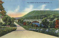 The Gateway To The Pocono Mountains Postcard