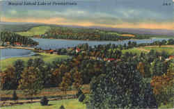 Natural Inland Lake Of Pennsylvania