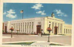 The United States Post Office At Allentown
