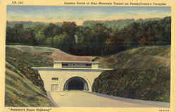 Eastern Portal Of Blue Mountain Tunnel