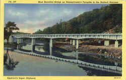 Most Beautiful Bridge In The Bedford Narrows Postcard