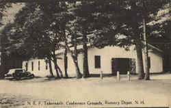 N. E. F. Tabernacle, Conference Grounds Postcard