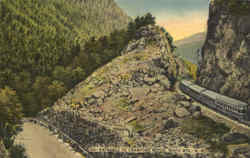 Entrance To Crawford Notch