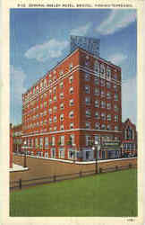 General Shelby Hotel Postcard