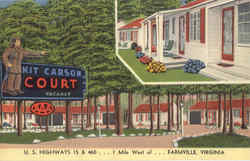Kit Carson Court, U. S. Highways 15 & 460