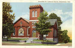 Jerusalem Ev. Lutheran Church Postcard