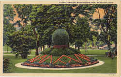 Floral Emblem, Washington Park Postcard