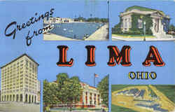 Greetings From Lima Postcard