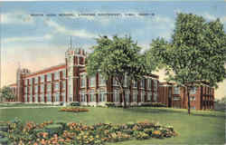 South High School Postcard