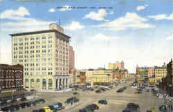 North Main Street Lima Postcard