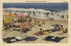 Ohio Vacationland On Lake Erie Postcard