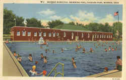 Warren Municipal Swimming Pool, Packard Park