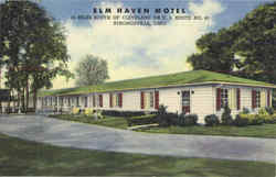 Elm Haven Motel , U. S. Route No. 42