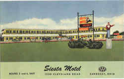 Siesta Motel, Routes 2 and 6