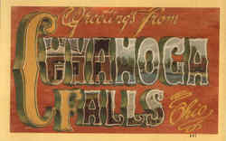 Greetings From Cuyahoga Falls Postcard