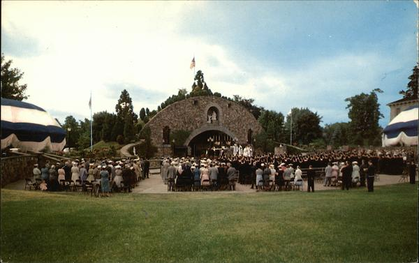 War Memorial Grotto Providence College Rhode Island
