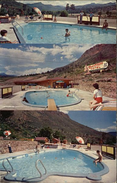 Red Cliff Motel, St. Vrain River Lyons Colorado