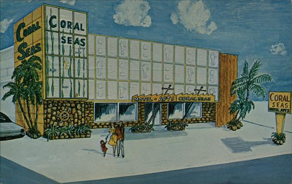Coral Seas Motel Miami Beach Florida