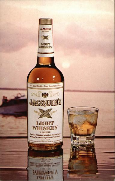 Jacquin's Light Whiskey Advertising