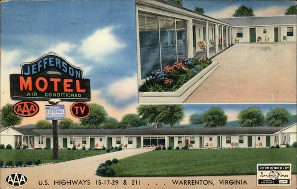 Jefferson Motel Warrenton Virginia