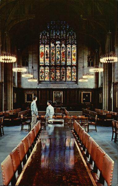 Procter Hall, Graduate College, Princeton University New Jersey