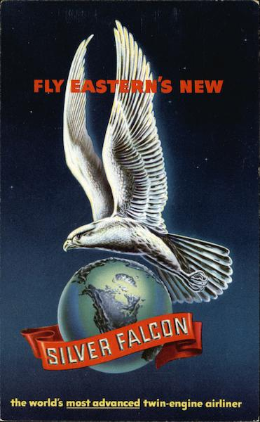 Fly Eastern's New Silver Falcon - The World's Most Advanced Twin-Engine Airliner.