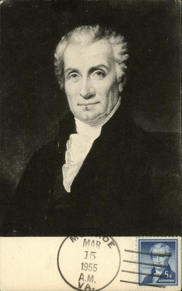James Monroe Presidents Maximum Cards